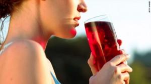 drink cranberry juice