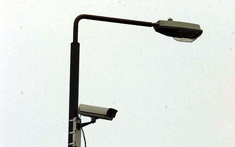 Lamp posts have been fitted with listening devices and cameras in order to monitor conversations in public