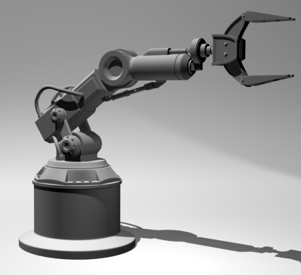 Robotic limb goes 3D