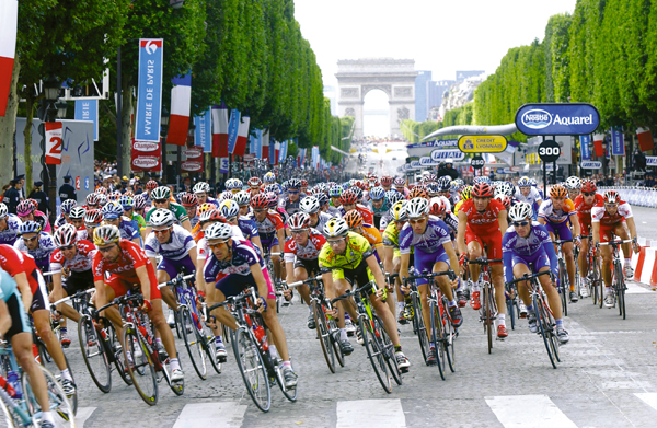 The First Week round up of the 100th edition of the Tour de France 2013