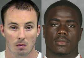 Kerrick (left) shot unarmed Jonathan Ferrell multiple times