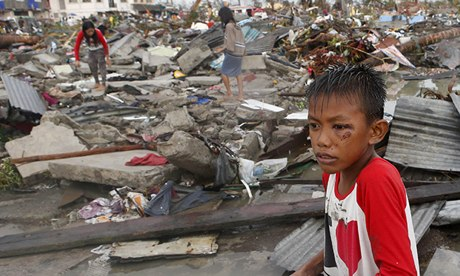 Super typhoon Haiyan the strongest to ever hit the Earth
