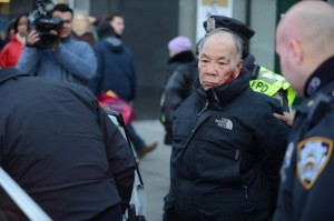Police dished out a brutal beating to 84 year old Kang Wong for jaywalking