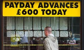 Payday lenders often advertise their services to the most vulnerable people in society