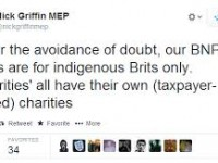 'Whites only' foodbank launched by the BNP