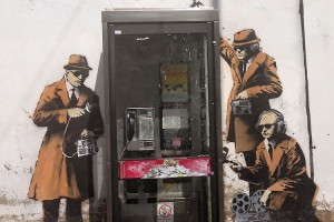 New Banksy-style artwork pokes fun at GCHQ