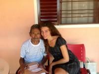 Raimundo Arruda Sobrinho pictured with Shalla Monteiro, who helped him to transform his life
