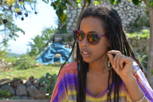 Bob Marley's granddaughter, Donisha Prendergast, is at the centre of a campaign to protect a Rastafarian heritage site