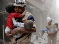 White Helmet volunteers in Syria have helped to reduce the death toll by rescuing citizens