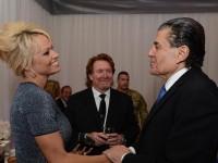 Arnold schwarzenegger, Sylvester Stallone and Haim Saban at the Zionist gala