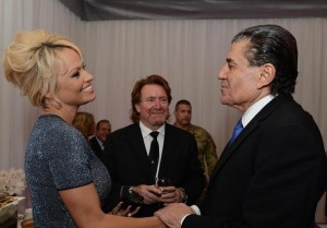 Arnold schwarzenegger, Sylvester Stallone and Haim Saban at the Zionist gala