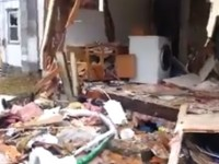 Cops demolish a home to arrest drug suspect