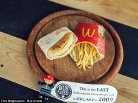 McDonald's final Meal becomes a historic item in Iceland