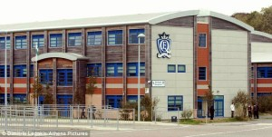 Queen Elizabeth School has come under fire for installing cameras in the girl's toilets