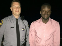 Virginia police officer this the headlines for assisting stranded motorist