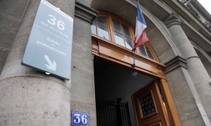 The incident is alleged to have taken place at the Paris's police headquarters on the Seine
