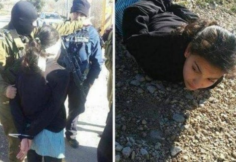 Dima was arrested on her way to school