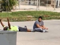 This footage shows Charles Kinsey doing exactly what he is told, while trying to care for his patient. He was shot anyway.