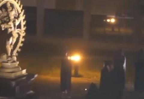 Bizarre human sacrifice ritual filmed at CERN laboratory