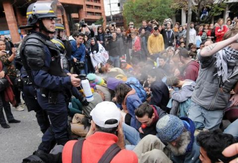 French police accused of systematic violence against refugees