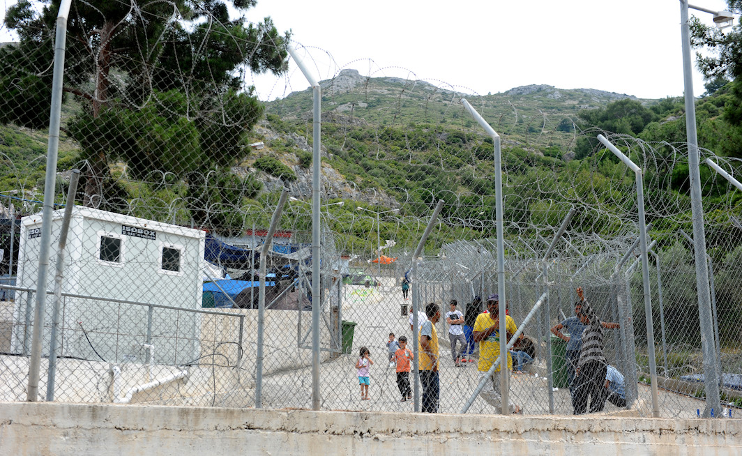 Refugee Camp Based In Samos