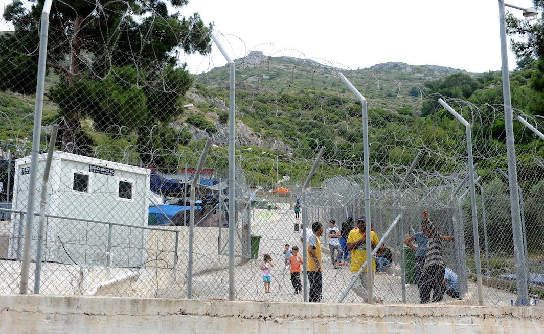 Refugee Camp Based In Samos