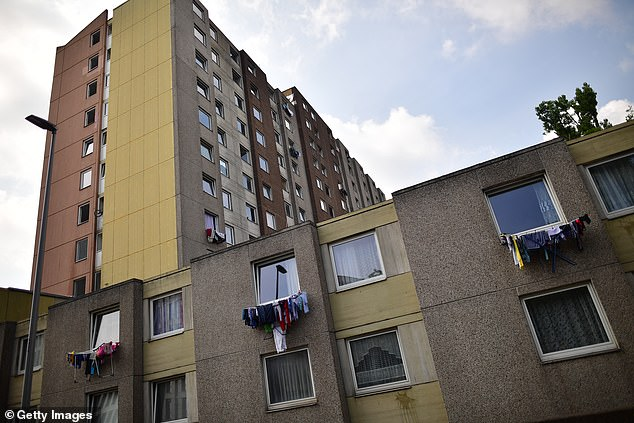 Two tower blocks have been locked down